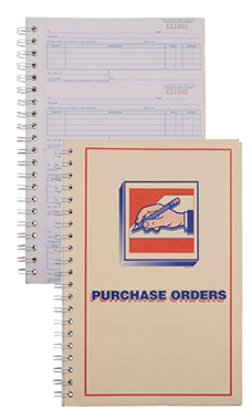 3-Part Purchase Order Book