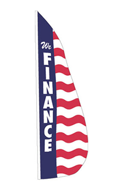 "Patriotic Feather Dancer - ""We Finance"""