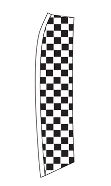 Wave Flag - Checkered