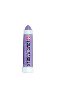 Purple Solid Paint Marker with 1/2 inch tip