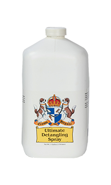 Crown Royale Ultimate Detangling Spray (I Gallon Ready to Use Refill)