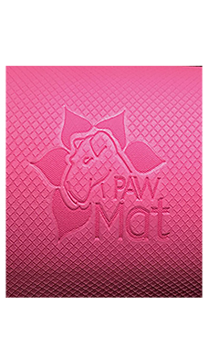 "PawMat Anti-Fatigue Grooming Mat (16"" x 27"") - Pretty in Pink"