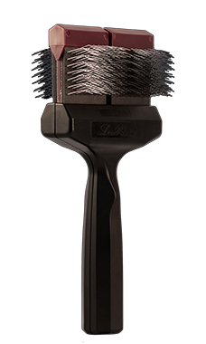 Les Poochs Pro Brush F F Wide Love Groomers
