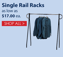 Single Rail Racks