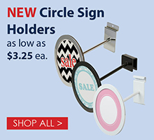 Circle Sign Holders