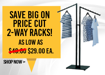 Save Big on 2 Way Racks