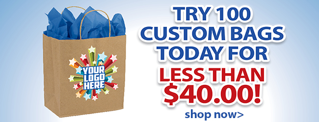 Try Custom Bags for Less than $40.00