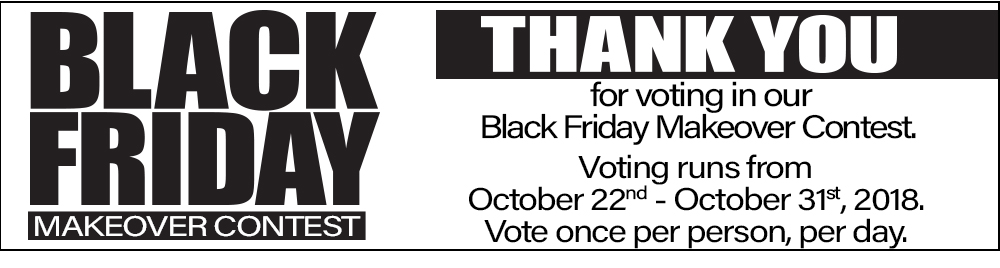 Black Friday Voting Confirmation