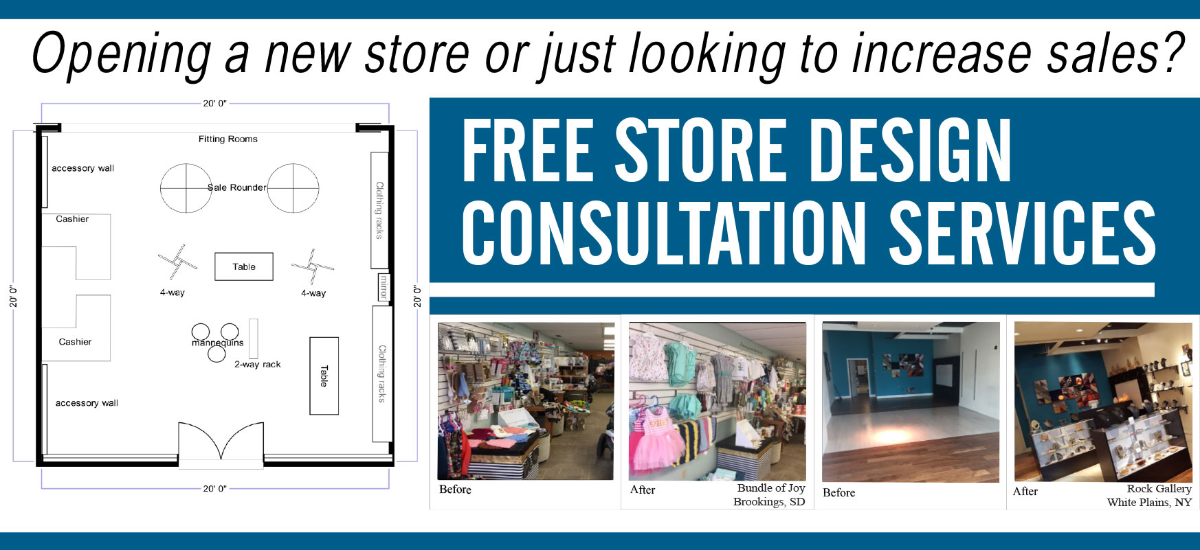 Free Store Design Consultation Services