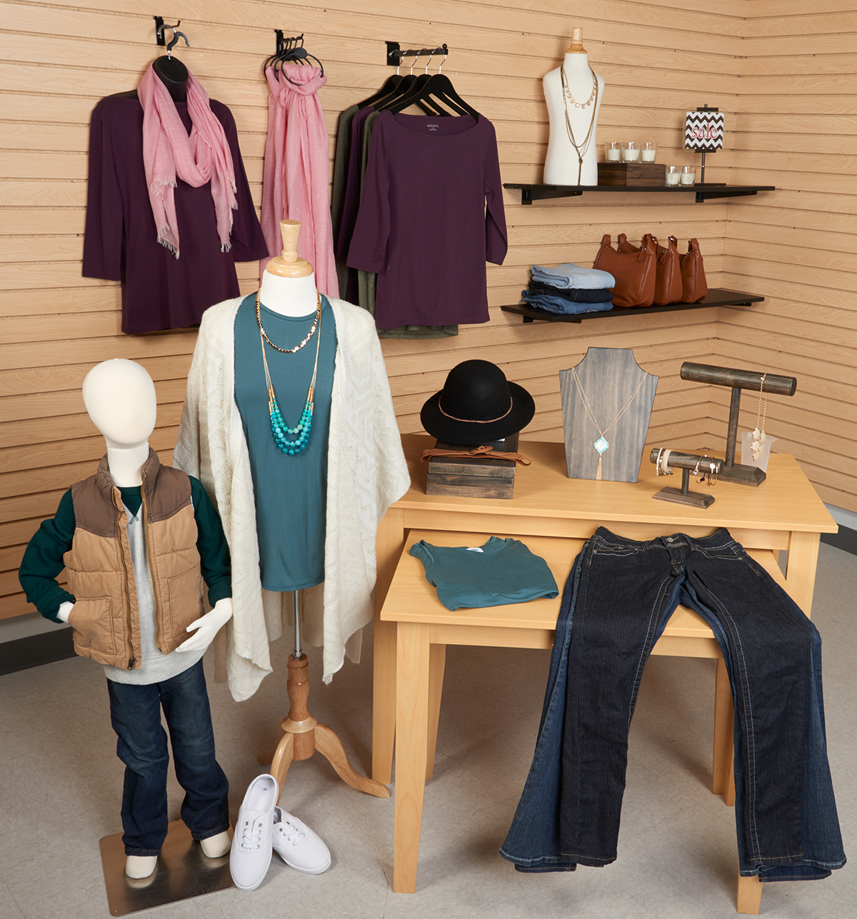 Fall Merchandising Example