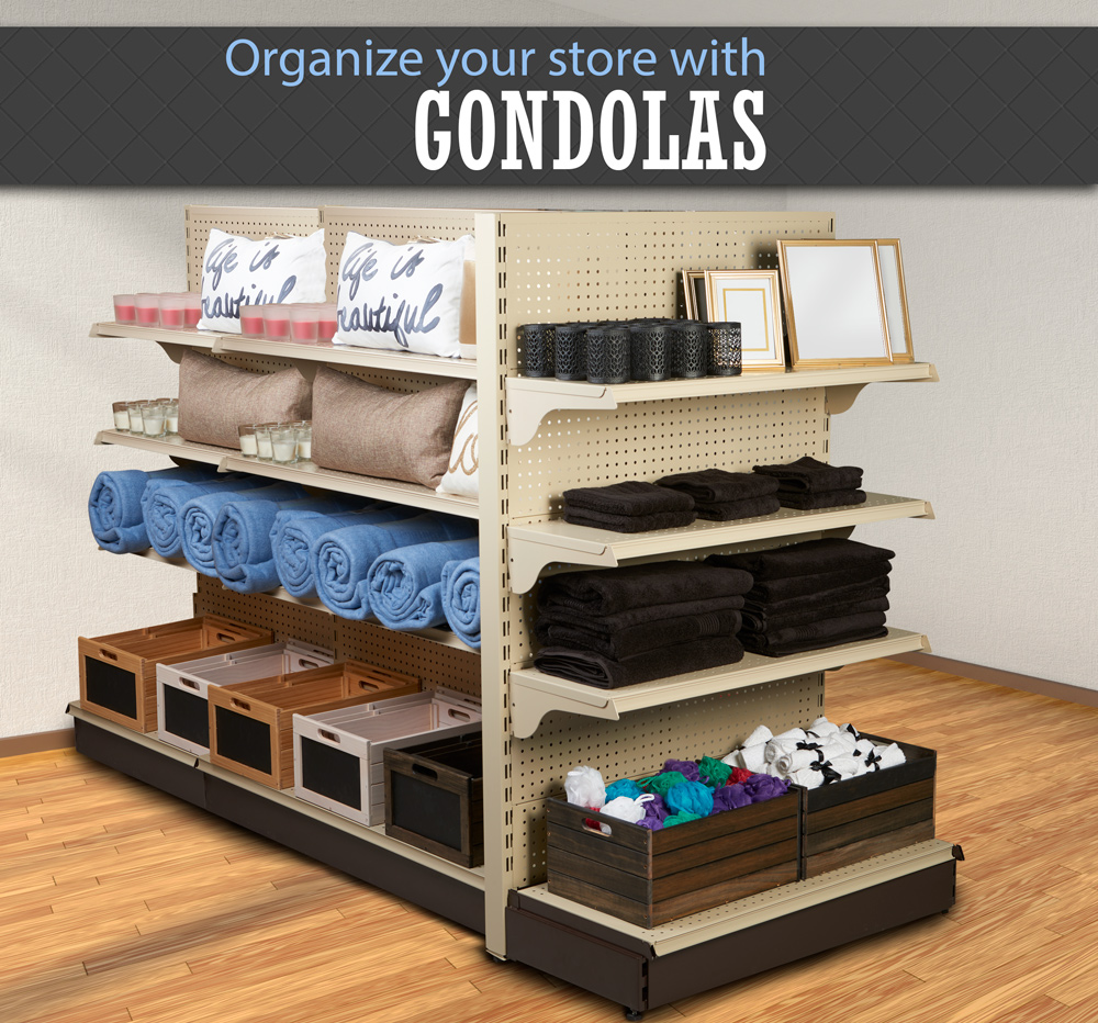 Organize with Gondolas