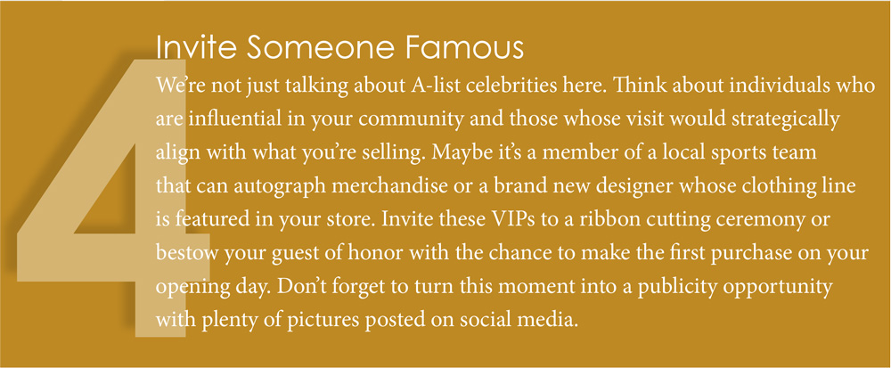 Invite Someone Famous
