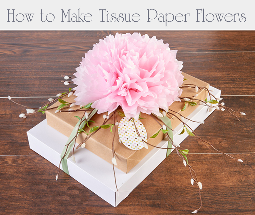 How to make tissue flower