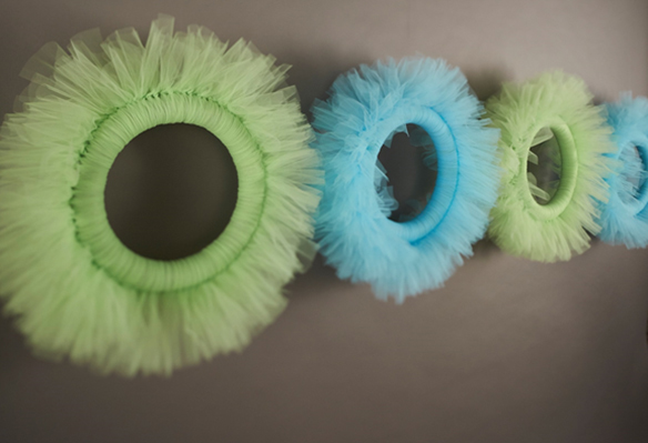 Tulle Wreathes
