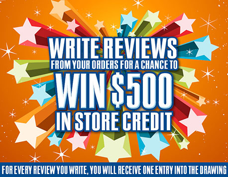 Win $500 in-store credit
