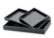 Black Jewelry Trays and Inserts