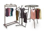 Boutique Clothing Racks
