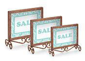 Boutique Sign Holders