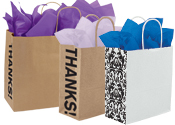 Gusset Paper Shopping Bags