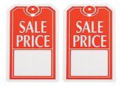 Reduced Price Slit Tags
