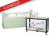 Closeout Display Cases