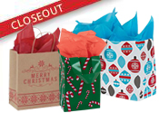 Closeout Holiday Bags