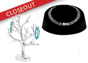 Closeout Jewelry Cards and Displays