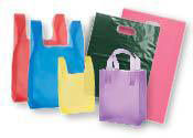 Colored Plastic Bags