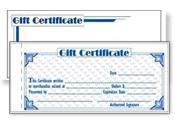 Gift Certificate Forms
