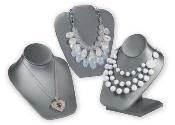 Gray Boutique Jewelry Displays