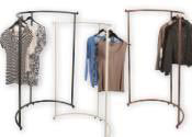 Half Round Clothing Racks