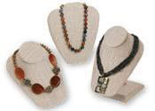 Linen Necklace Displays