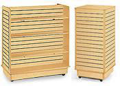 Maple Slatwall Display Units