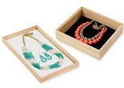 Natural Wood Jewelry Trays