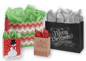Paper Holiday Retail Shopping Bags