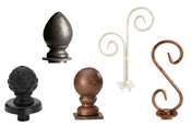 Boutique Finials