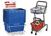 Shopping Baskets & Carts