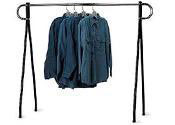 Single-Rail Clothing Racks