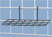 Wire Grid Shoe Shelves