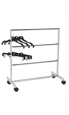 Chrome Hanger Storage System