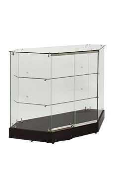Infinity Rear Access Corner Display Case