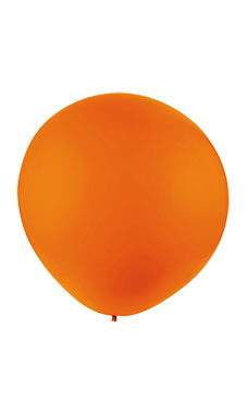 64 inch Gigantic Orange Display Balloon