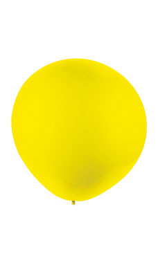 64 inch Gigantic Yellow Display Balloon