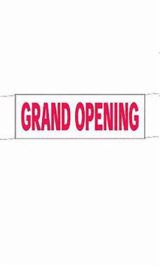 Economy Grand Opening Banner