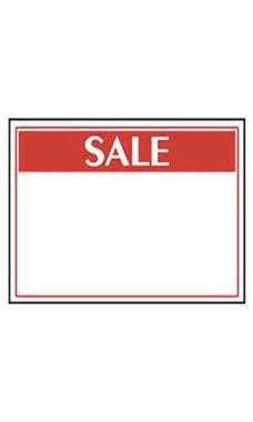 Small Economy Sale Sign Cards