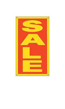 Sale Window Sign with Suction Cups