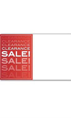 Clearance Sale Companion Sign