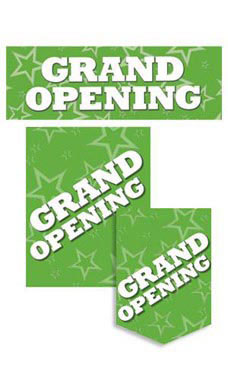 11 Piece Grand Opening Sign Kit