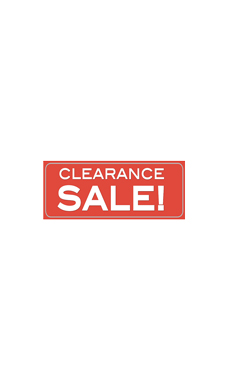 Clearance Small Sale Banner