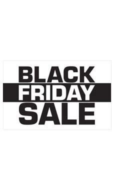 Medium Black Friday Sale Sign Card